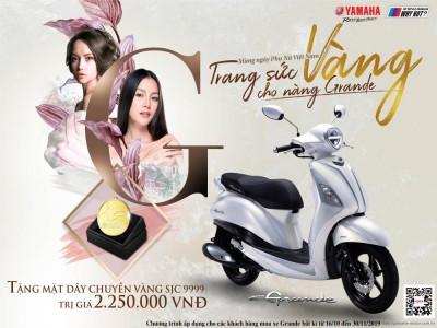 Khuyến mãi đặc biệt mừng ngày Phụ nữ Việt Nam: TRANG SỨC VÀNG CHO NÀNG GRANDE