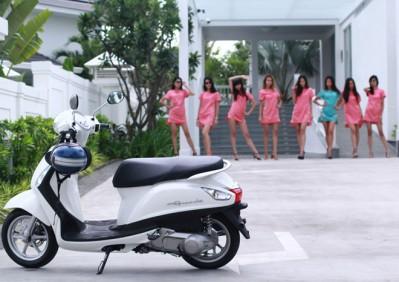 Những ưu điểm hớp hồn phái đẹp của xe Yamaha Grande
